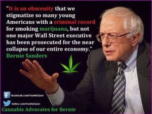 Credit to Cannabis Advocates for Bernie for the pic.